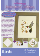 Embroidered Additions - Birds - More Details