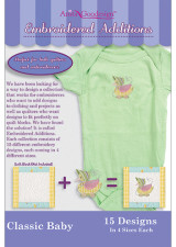Embroidered Additions - Classic Baby - More Details