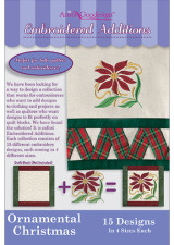 Embroidered Additions - Ornamental Christmas - More Details