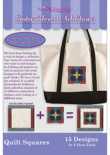 Embroidered Additions - Quilt Squares - More Details