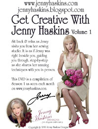 Get Creative with Jenny Haskins DVD + FREE Shipping