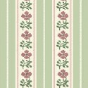 Floral Stripe - Green - More Details