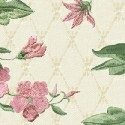 Small Lattice Floral - Cream - More Details