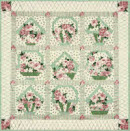 Ring a Ring a Rosie Basket Full of Posies Quilt Kit - Fabric Only - More Details
