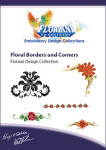 Floriani Embroidery Design Collection - Floral Borders and Corners - More Details