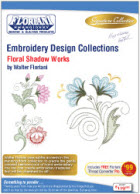 Floriani Embroidery Design Collection  Floral Shadow Works + FREE SHIPPING! - More Details