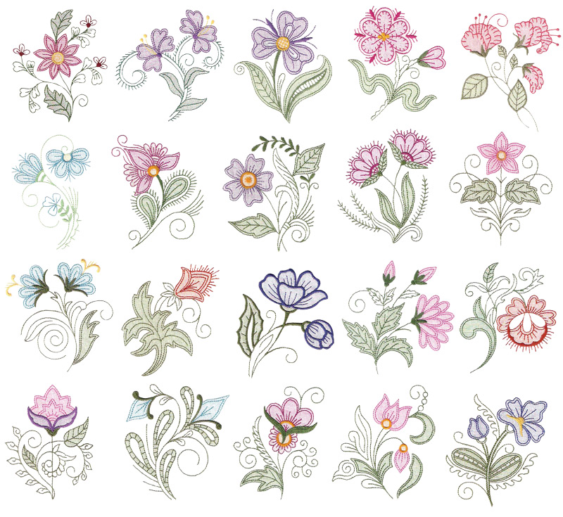 Creative Machine Embroidery Designs For Purchase