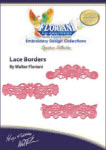 Floriani Embroidery Design Collection - Lace Borders by Walter Floriani - More Details