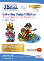 ON SALE! Floriani Embroidery Design Collection Precious Moments® - A Time to Play + FREE SHIPPING! - More Details