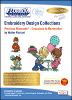 ON SALE! Floriani Embroidery Design Collection Precious Moments® - Occasions to Remember + FREE SHIP - More Details