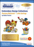 ON SALE! Floriani Embroidery Design Collection Precious Moments® - Little Darlings + FREE SHIPPING! - More Details