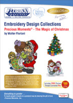 ON SALE! Floriani Design Collection Precious Moments® - The Magic of Christmas + FREE SHIPPING! - More Details