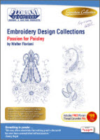 Floriani Embroidery Design Collection Passion for Paisley + FREE SHIPPING! - More Details