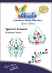 Floriani Embroidery Design Collection - Spanish Flowers - More Details