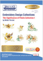 Floriani Embroidery Design Collection Significance of Petals + FREE SHIPPING! - More Details