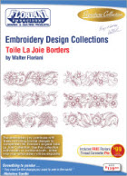 Floriani Embroidery Design Collection Toile La Joie Borders + FREE SHIPPING! - More Details