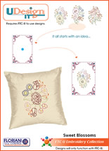 UDesign It Sweet Blossoms + FREE Shipping! - More Details