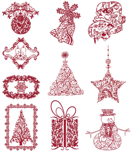 Floriani Embroidery Design Collection Victorian