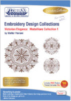 Floriani Embroidery Design Collection Victorian Elegance: Medallions Collection + FREE SHIPPING! - More Details