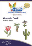 Floriani Embroidery Design Collection - Watercolor Florals by Walter Floriani - More Details