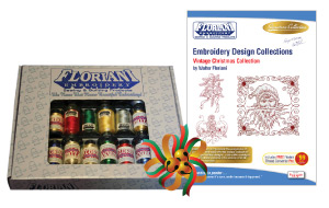 Floriani Deluxe Holiday Thread Set  + FREE SHIPPING! - More Details