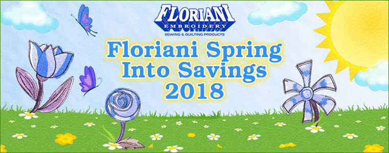 Floriani Spring into Savings 2018
