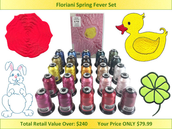 Floriani Spring Fever Set