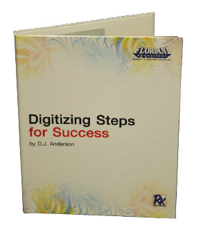 Digitizing Steps for Success by D.J. Anderson + FREE Shipping!