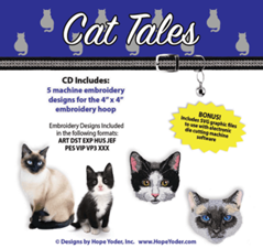 Cat Tales Embroidery Collection - More Details