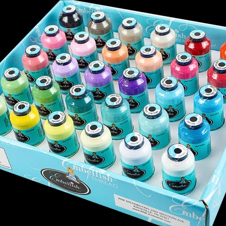 Embellish Matte Thread 30 Spool Thread Set + FREE Shipping! - More Details