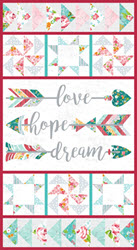 Roses & Arrows by Hope Yoder for Blank Quilting
