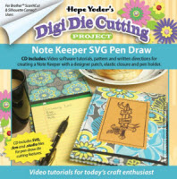 Digi Die Cutting Project - Note Keeper - More Details