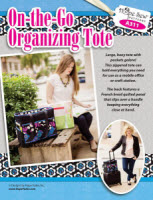 On-the-Go Organizing Tote Pattern - More Details