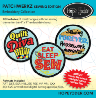 Patchwerkz Sewing Edition Embroidery Collection - More Details