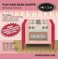 Play and Bake Shoppe Embroidery Collection - More Details