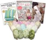 Jenny Haskins Fabulous Fall Yarn Kit w/FREE Simon's Terrific Trims + FREE Shipping - More Details