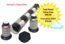 Jenny Haskins Metallic Thread Tubes - Jenny's Favorites - More Details