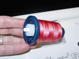 Jenny Haskins Cone Adapter for Horizontal Thread Feed