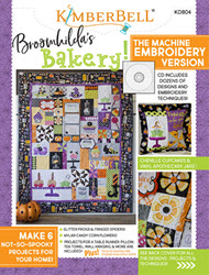 Broomhilda's Bakery Machine Embroidery CD - More Details