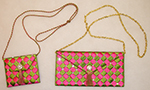 Peaches Purses - Pink & Green Candy Wrapper Purse Kit - More Details