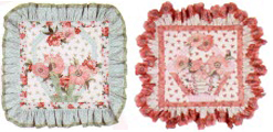 Spring Dreams Pillows - Pink & Green Complete Kit - More Details