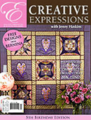 Jenny Haskins Creative Expressions Issue 20 - More Details