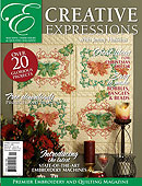 Jenny Haskins Creative Expressions Issue 21 - More Details