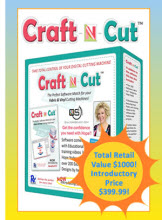 Quilters Select Craft N Cut Software + FREE Shipping!