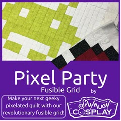 Sew Much Cosplay - Pixel Party Quilt