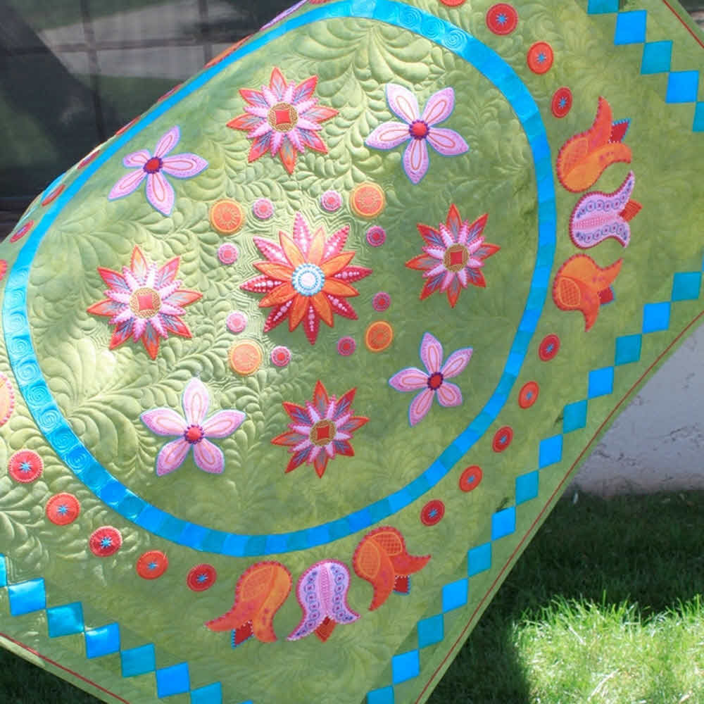 Go Bloom Embroidery Cd By Sarah Vedeler Free Shipping